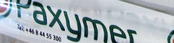 Paxymer-Contact header